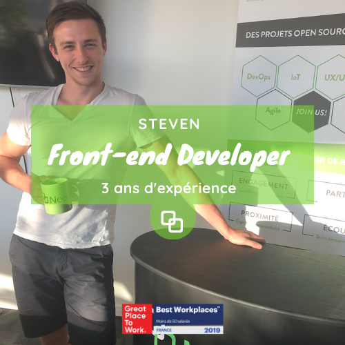 Steven, Front-end Developer