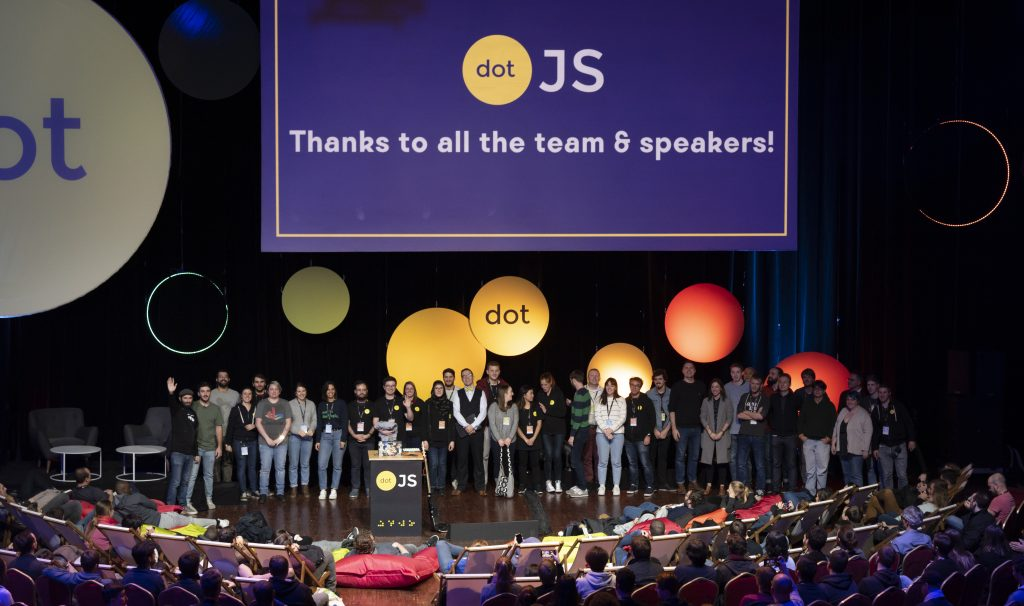 Speakers au DotJS 2019