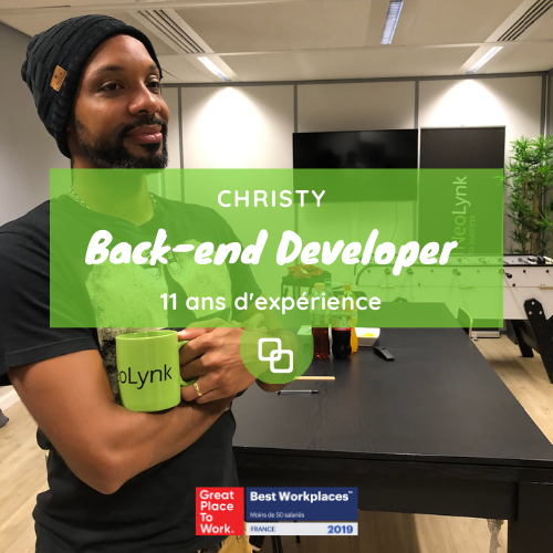 L'accompagnement de Christy, Back-end Developer, 11 ans d'expérience